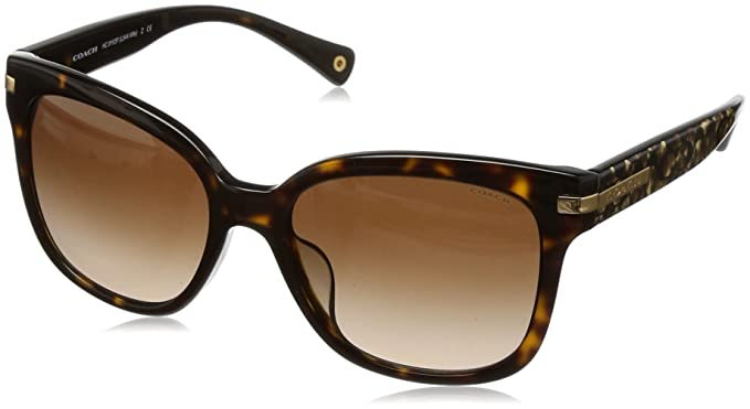 f449133b9dc ... coupon code coach hc8103f l544 alfie sunglasses 522713 dk tortoise beige  ocelot sig c dark brown