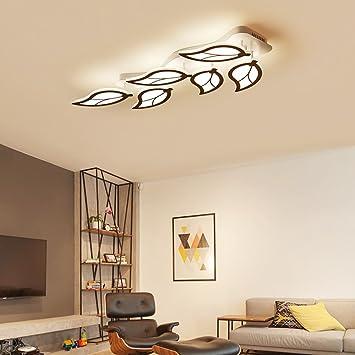 ZHANGRONG Moda Creativo Parche De LED Casa Decoración Hojas ...