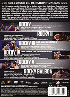 Rocky - The Complete Saga [Alemania] [DVD]: Amazon.es: Sylvester Stallone, Sylvester Stallone: Cine y Series TV