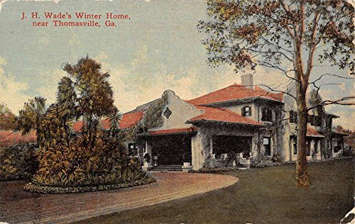 thomasville-georgia-wades-winter-home-street-view-antique-postcard-k57237