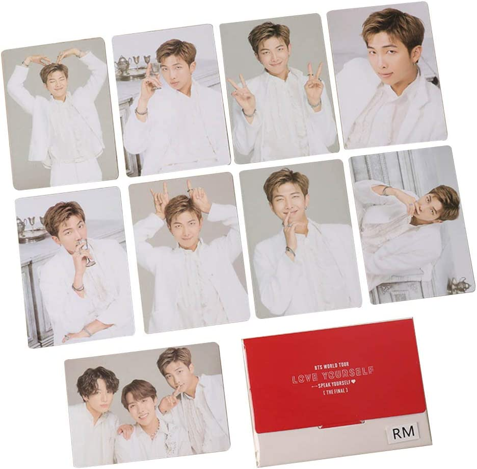 H04 Cotrdocigh Kpop BTS Map of the Soul 7 Speak Yourself Card Paper Photo Photocards Lomo Card Sticker Postcard Set Regalo per A.R.M.Y