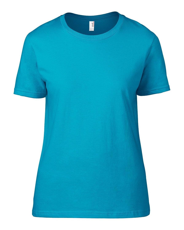 Womens Fashion T-Shirt-Womens Short Sleeve T-Shirts by Anvil