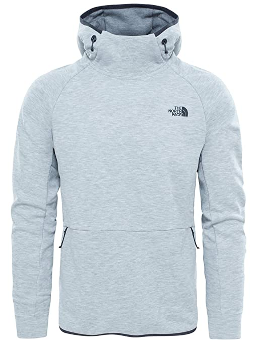 North Face M Slacker Pull ON Hoodie Sudadera, Hombre, Gris