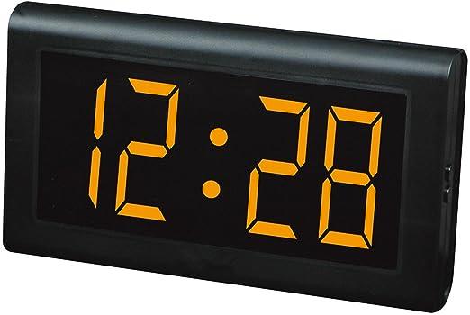 Relojes LED Reloj de mesa, Reloj de pared LED, Números grandes ...