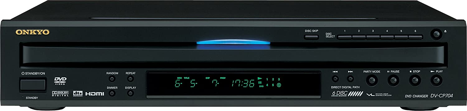 Onkyo 6 Disc HDMI Player DVCP704