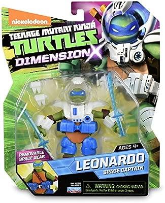 Tortugas Ninja - Figura Leonardo x 6 (TUA02101): Amazon.es ...
