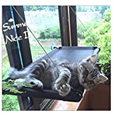 Cat Bed Window Hammock Kitty Sunny Seat Cradle Pet Perch Heavy Duty Suction Cups Holds Up 50lb