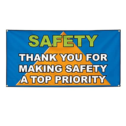 picture relating to Making a Printable Banner referred to as : Vinyl Banner Signal Basic safety Thank Your self Generating