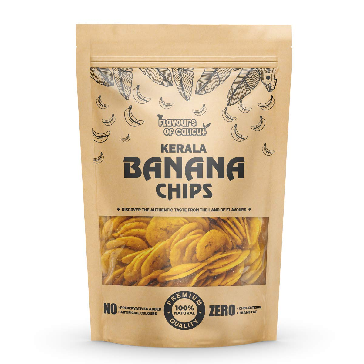 Flavours of Calicut Kerala Banana Chips - 400g