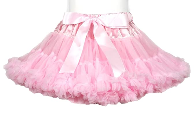 7feec144b8 Light Pink Pettiskirt Tutu Dress for Girl 1 to 8 Year: Amazon.co.uk:  Clothing