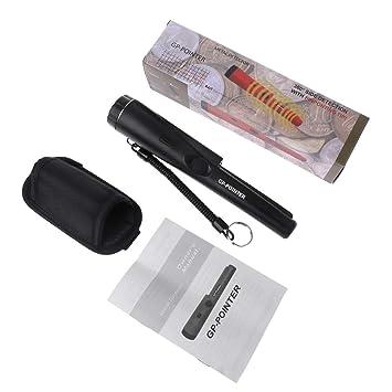 WEISHAZI detector de metales GP-Pointer punta de señalización sonda vibración luz alarma W pulsera negro: Amazon.es: Hogar