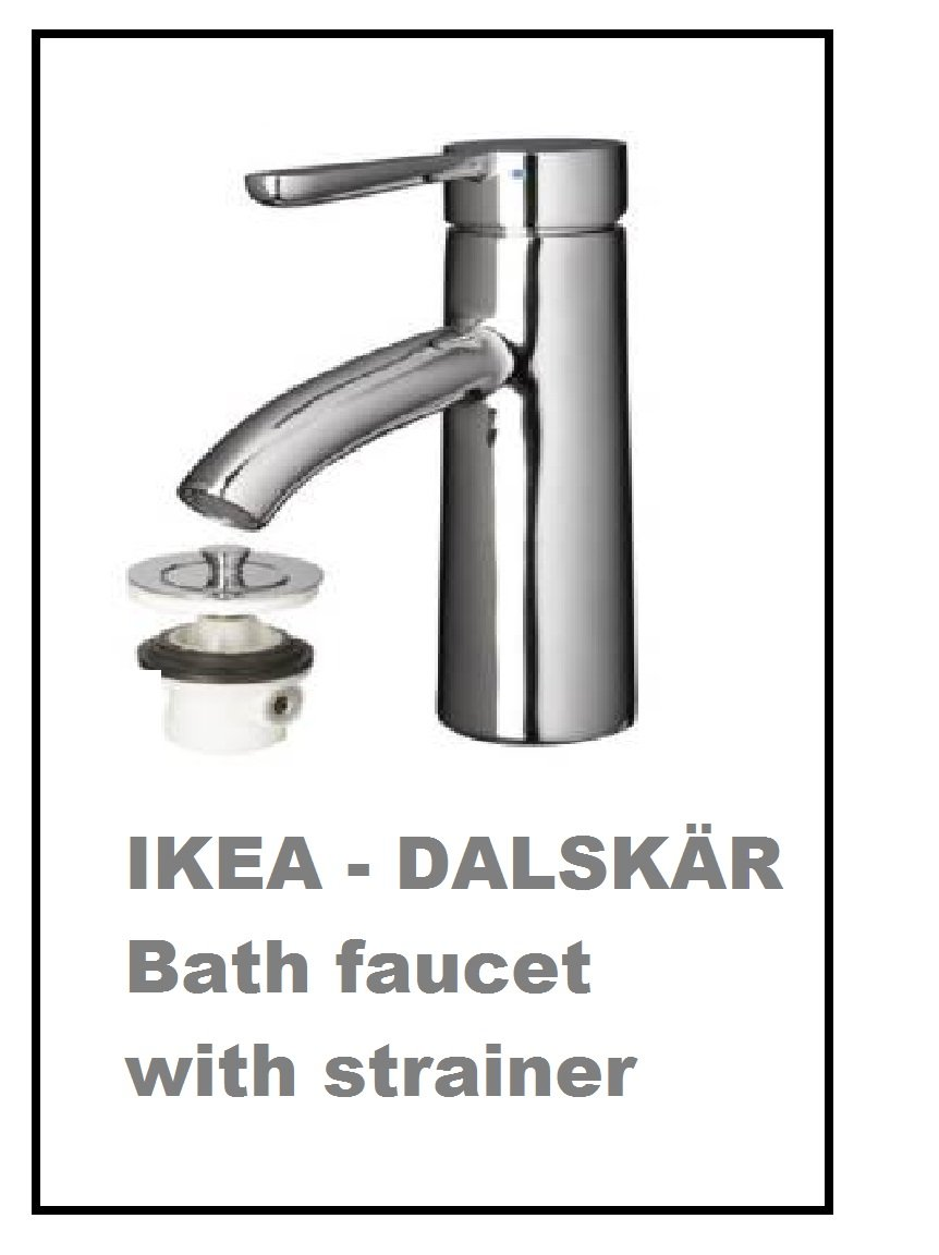 IKEA DALSKAR Bath faucet with strainer  chrome plated by Ikea     Amazon com. IKEA DALSKAR Bath faucet with strainer  chrome plated by Ikea
