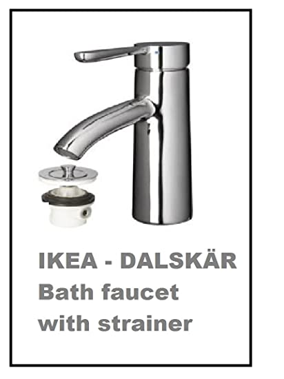 IKEA DALSKAR Bath faucet with strainer, chrome plated by Ikea ...