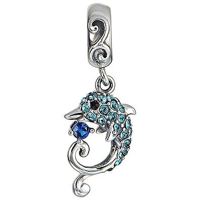 [Sponsored]Koala Charm Bead - Aqua Crystals Sterling Silver - Gift boxed ADI0DHRss