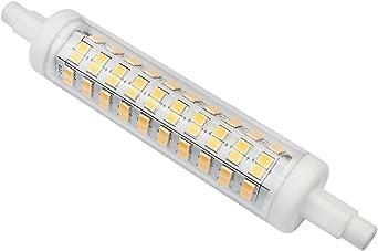 Kakanuo R7S LED Leuchtmittel, 118 mm, 10 W entspricht 100 W bei klassischen Leuchtmitteln, warm weiß, 3000 K, 1000 lm, nicht dimmbar, energiesparend,