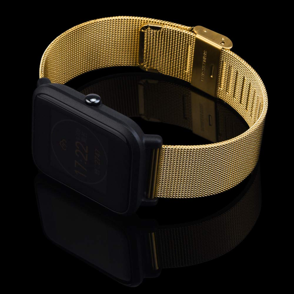 Amazon.com: Cywulin Milanese Bands for Huami Amazfit Bip Youth Watch ...