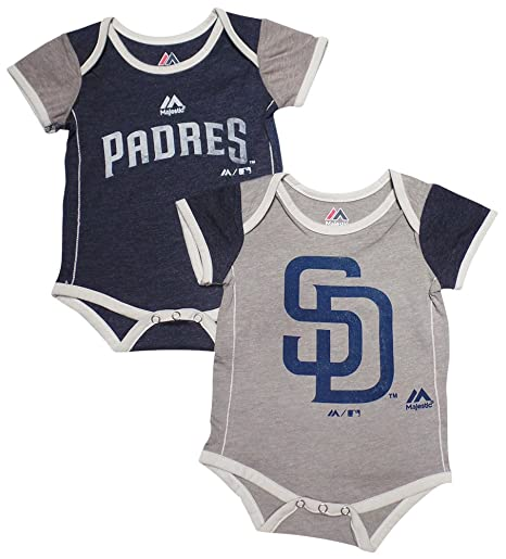more photos 4290c 2f3a4 Majestic San Diego Padres Baby/Infant 2 Piece Creeper Set