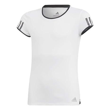 adidas G Club tee Camiseta, Niñas, Blanco, 152 (11/12 años