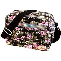 Sale Clearance Women Handbags Halijack Ladies Vintage Printing Canvas Messenger Bag College Girl Casual Travel Purse Cosmetic Bag Summer Beach Bag Small Shoulder Bag Crossbody Bag