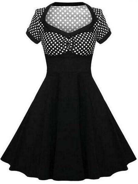 Kleid knielang punkte