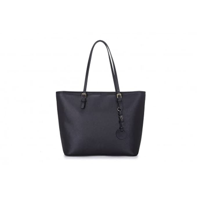 efafe5e424 LeahWard Women s Large Size Fashion Great Shoulder Bags Ladies Designer  Shopper Bag Handbags 362 (Oversize Shoulder Bag-Black (40x16x29cm))   Amazon.co.uk  ...