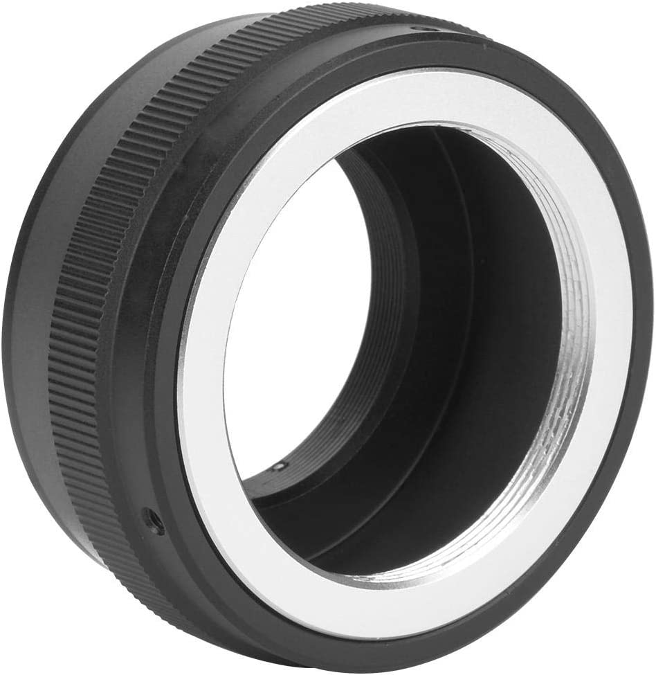 Bewinner Len Converter,M42-M4//3 Adapter Ring for M42 Lens to for M4//3 Camera,Easy to Use and Portable,Convenient to Carry and Store