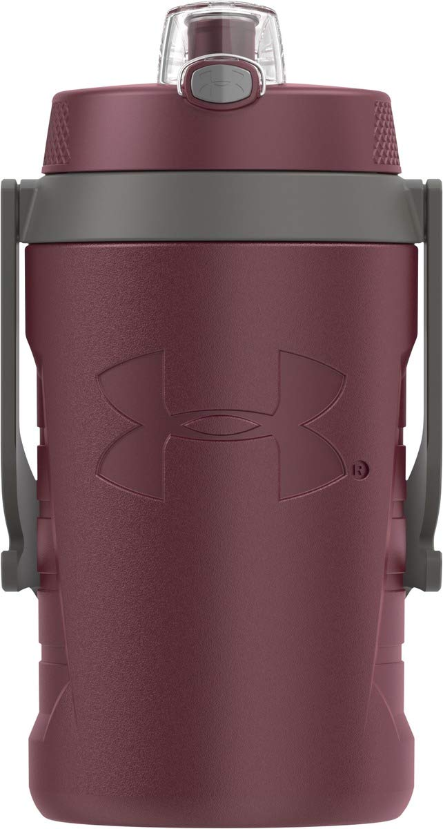 Under Armour Sideline 64 Ounce Water Jug  Maroon