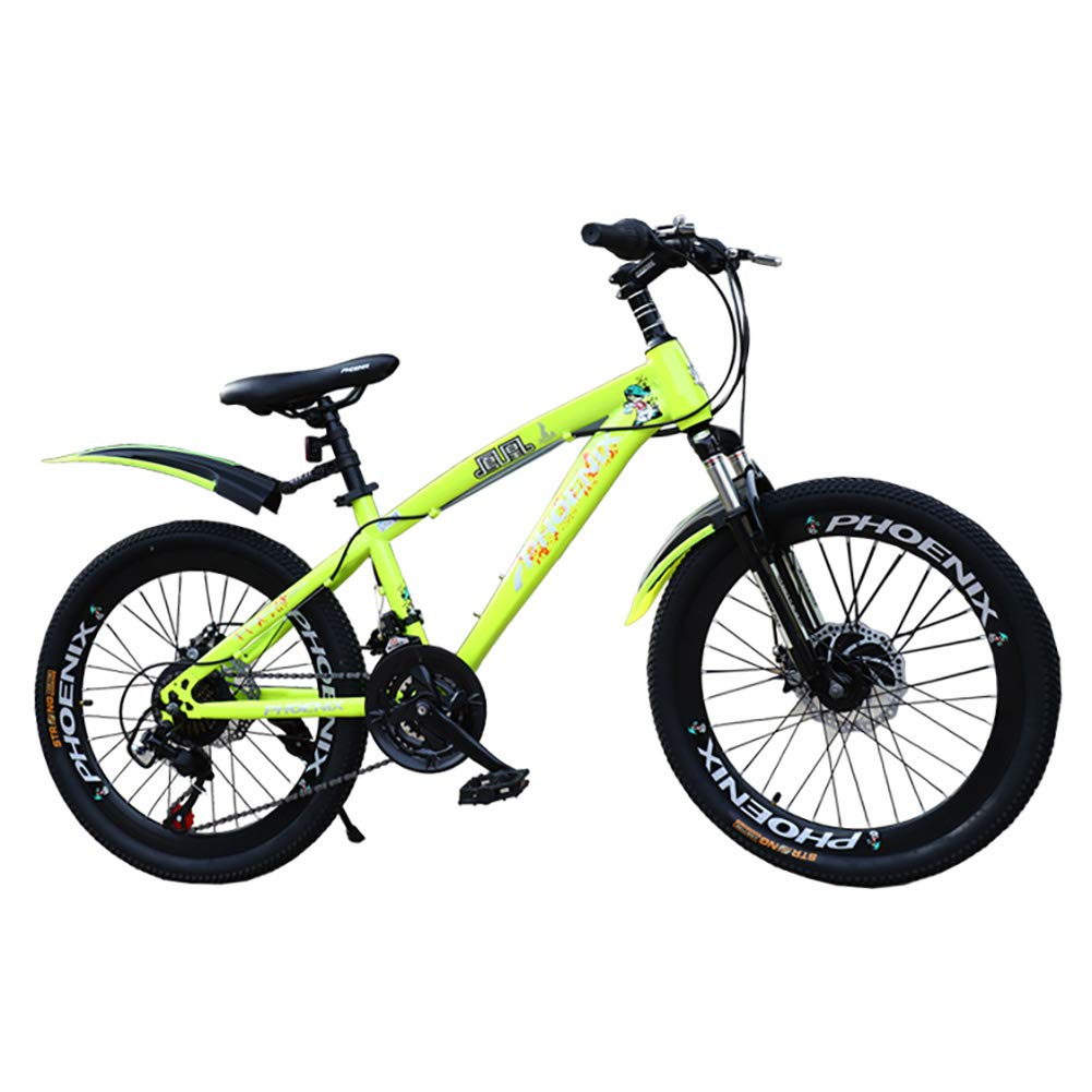 YJTGZ JYetzxc Bicycles Boys And Girls Pedal Bicycle Mountain Travel Bicycle 18 Inch / 20 Inch Student Bicycle Speed ​​Adjustable Mountain Bike (Color: B, Size: 18inches)