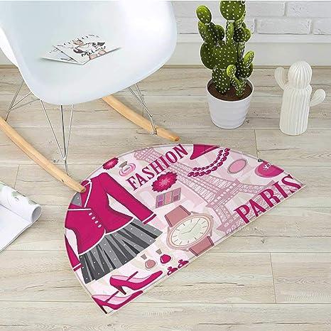 Amazon.com: Cojín semicircular para niña, diseño de ...