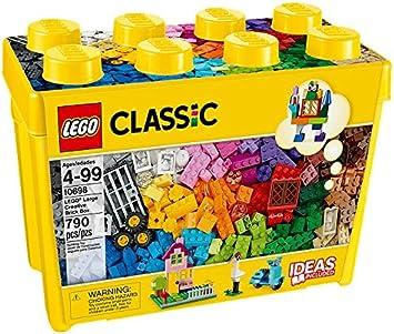 LEGO Classic Caja de Ladrillos Creativos Grande - Juegos de construcción, 4 año(s), 790 Pieza(s), Niño/niña, 99 año(s), 6 cm: Amazon.es: Juguetes y juegos