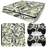 MODFREAKZ™ Console and Controller Vinyl Skin Set - Money Pile for PS4 Slim
