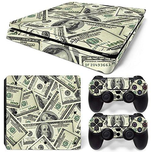 Price comparison product image ModFreakz® Console / Controller Vinyl Skin Set - Money Pile for PS4 Slim
