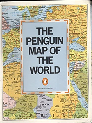Buy The Penguin Map Of The World Book Online At Low Prices In India