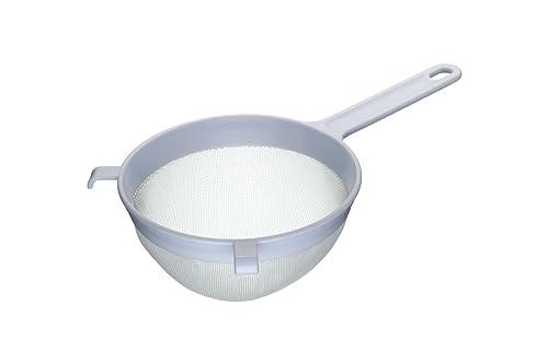 "Kitchen Craft Round Nylon-Mesh Large Plastic Sieve, 18 cm (7"")"