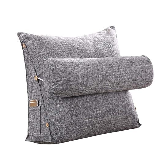 JYCRA Almohada Triangular, cojín de cuña Ajustable para sofá ...