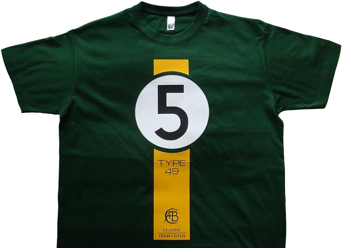 Uber9 Jim Clark Classic Team Lotus Usgp T Shirt Amazon Es Ropa Y Accesorios