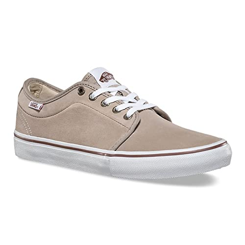 Vans Chukka Low Desert Taupe White Skateboard Shoes-Men 9.5 b143870ddf