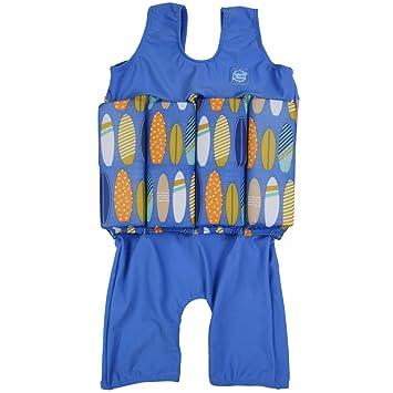 Splash About SJBL2 - Flotador corto de tirantes para niños, color turquesa/azul, 2-4 años: Amazon.es: Zapatos y complementos