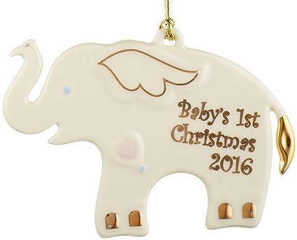 lenox 2016 babys first christmas ornament