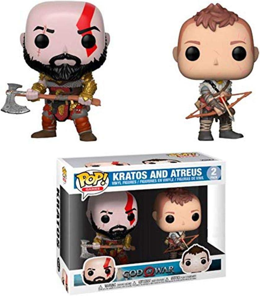 Funko God of War (2018) - Kratos & Atreus Pop! Vinyl, 2 Pack ...