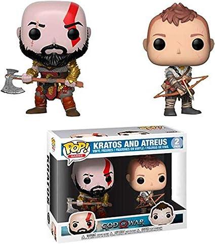 Funko Pop! Games: God of War - Kratos & Arteus Collectible Toy