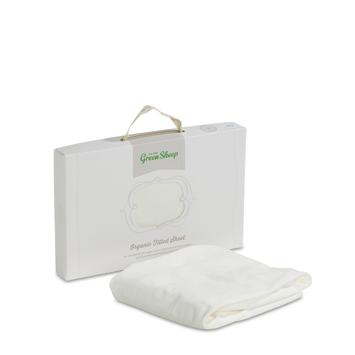 The Little Green Sheep Organic Cotton Crib Fitted Sheet BD002CW
