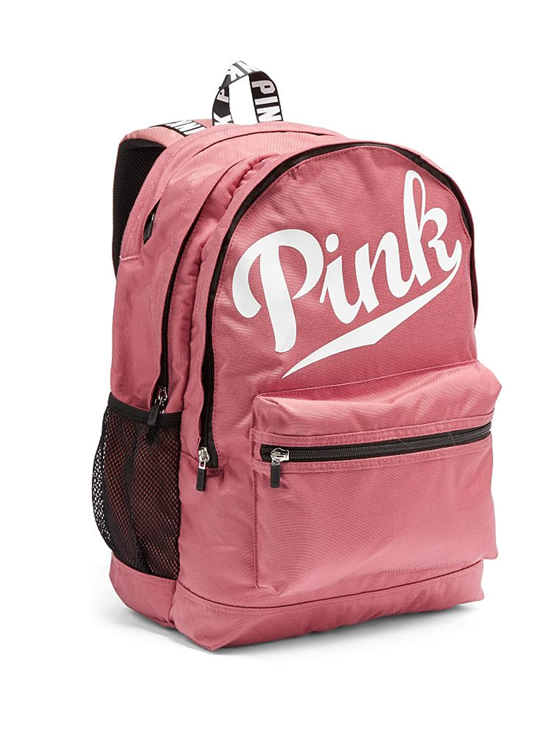 Amazon.com | Victoria'sSecret PINK CAMPUS BACKPACK Soft Begonia ...