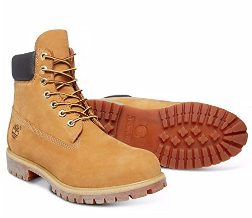 Timberland 10061 Icon 6 Inch Premium Boot (Wheat) UK:12.5