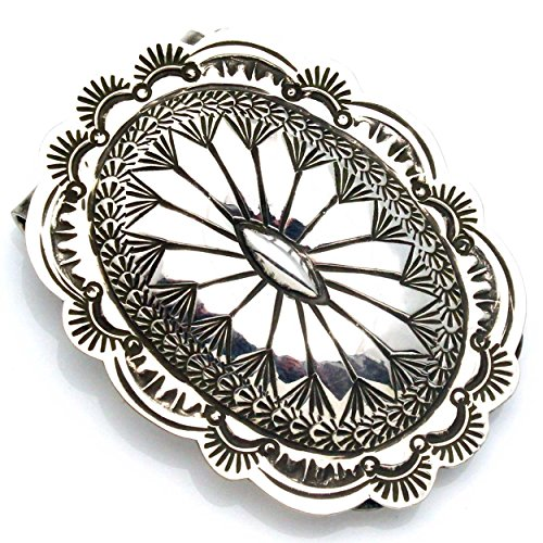 Oval By Silver Stamped Oval A Stamped Clip Silver Blackgoat Money 4UT4qxCn