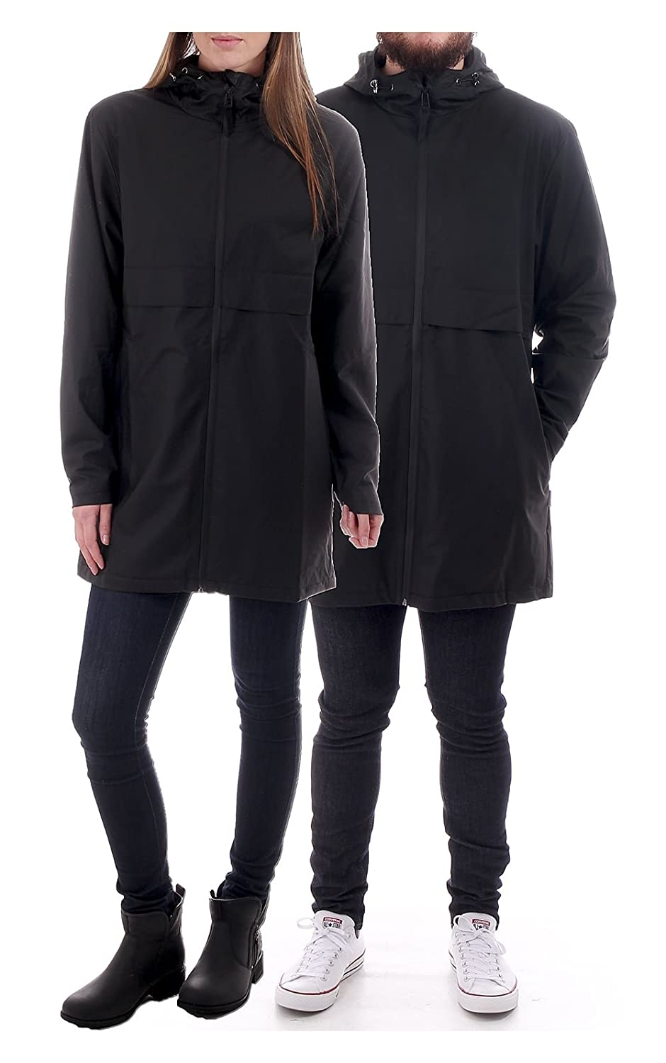 Rains Mile Thermal Jacket in Black