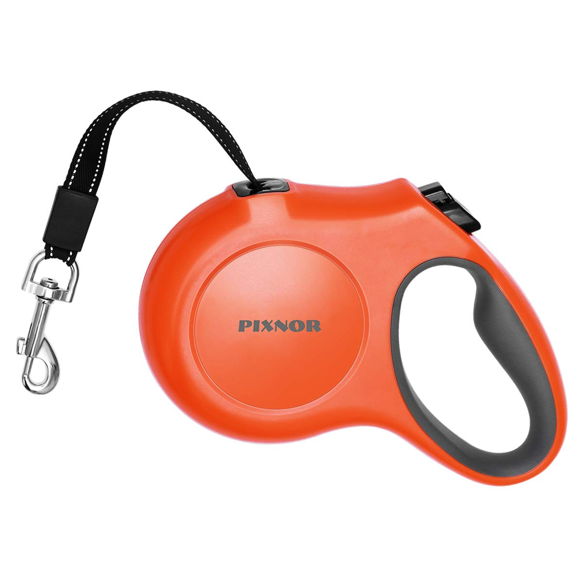 PIXNOR Retractable Dog Leash 5M for Small Medium and Large Breed (Size L & Orange)