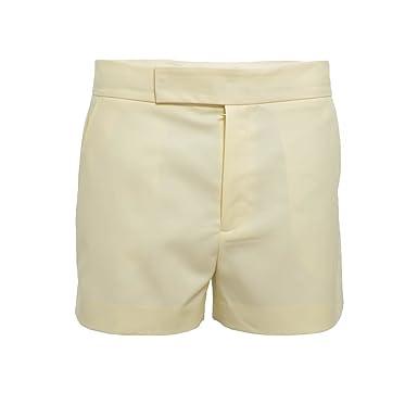 d8ec5ba9f32 Amazon.com  RALPH LAUREN - Short Ralph Lauren blanc crème Arquette ...