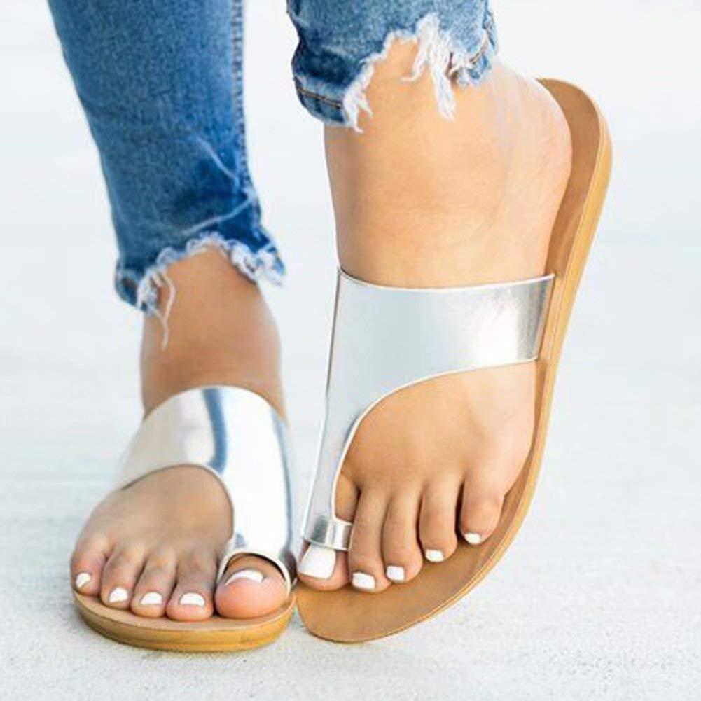 Running Pet Women Comfy Platform Sandal Shoes Summer Beach Travel Shoes 1-2cm Heel Height Flip Flops Platform PU Leather Flat Sole Womens Sandals