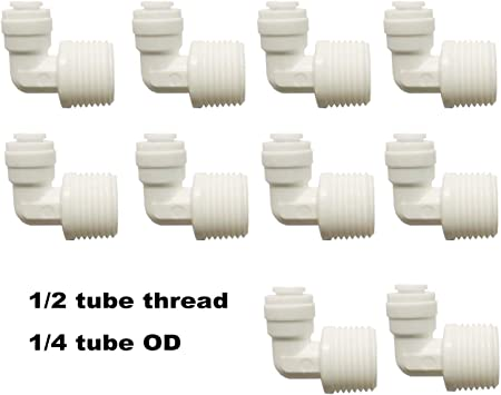 3//8 Tube Size Parker 149F-6-12-pk5 Male Elbow Pack of 5 Flare x MNPT Connection Type 90 and Degree